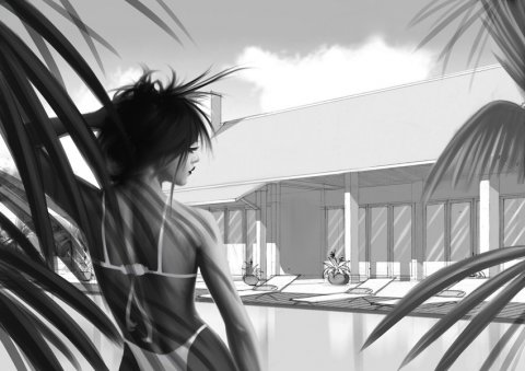 Projet rough/storyboard de LOUIS CAZALIS