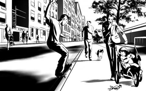 Projet rough/storyboard de  MARCELINO