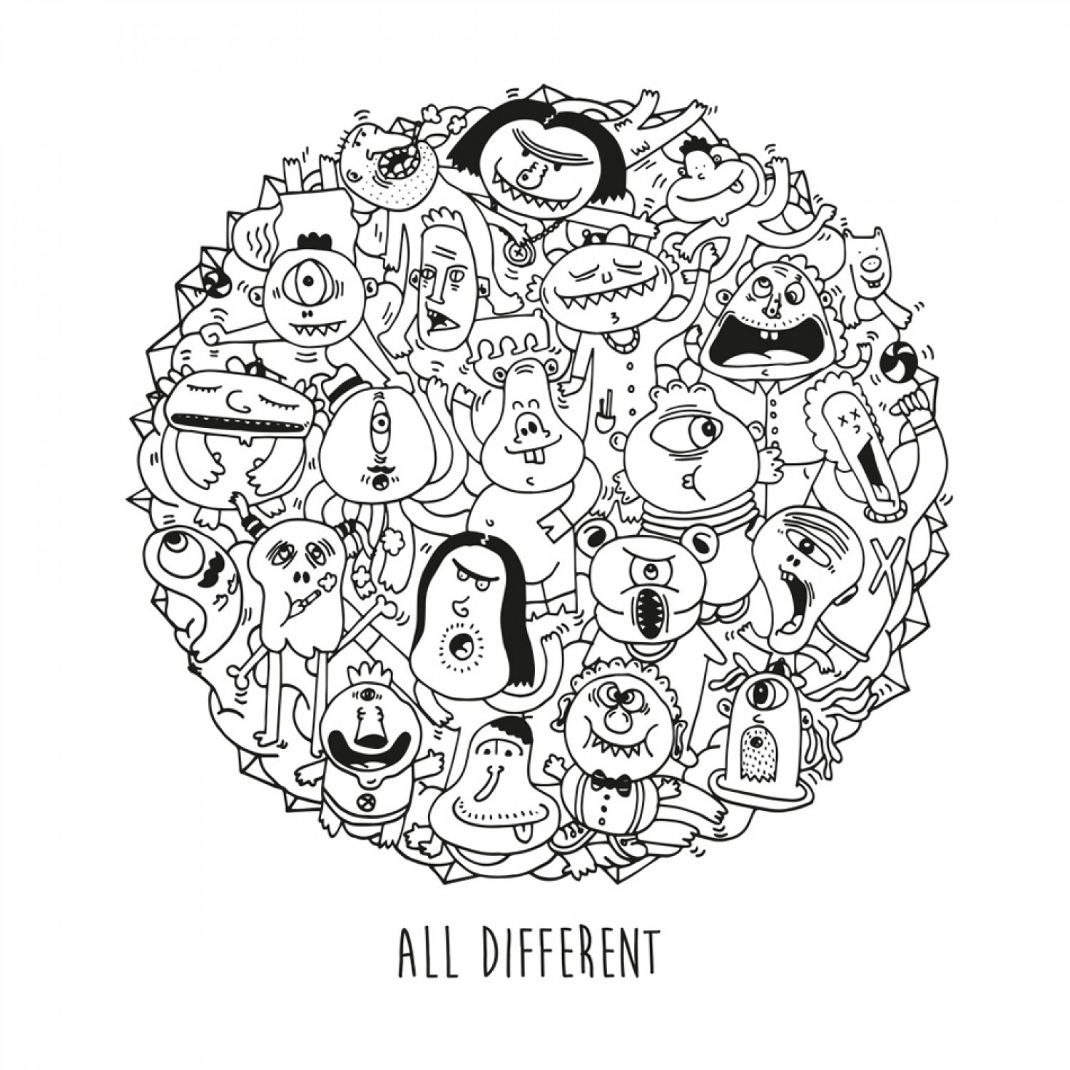 ALL DIFFERENT