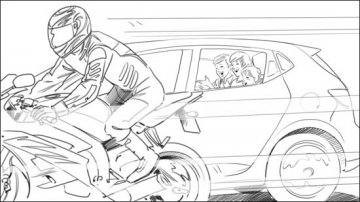 Projet rough/storyboard de Laurent DUGARD