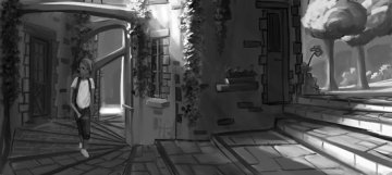Projet rough/storyboard de  MATHIEU