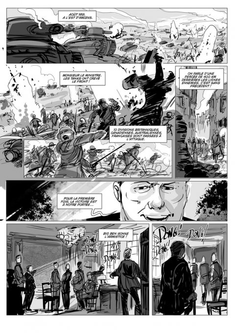 Projet rough/storyboard de CHRIS REGNAULT