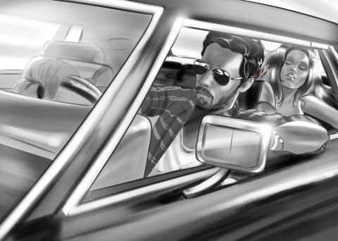 Portfolio rough/storyboard de Laurent COLONNA
