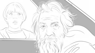 Projet rough / storyboard de PHIL GRIM