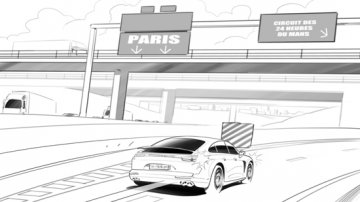 Projet rough / storyboard de Laurent DUGARD