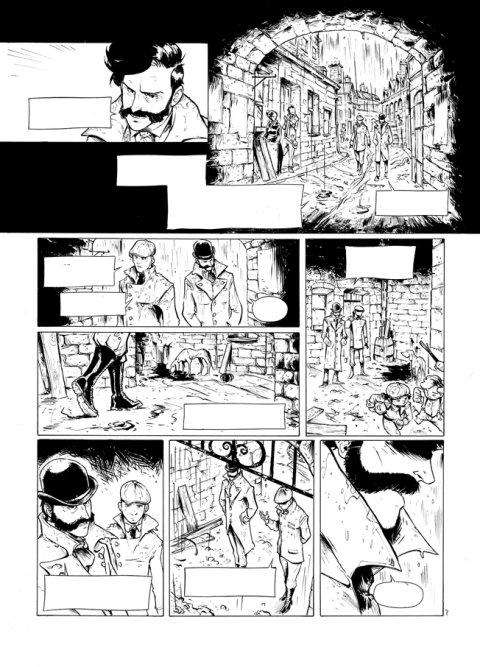 Projet rough / storyboard de JULIEN MOTTELER
